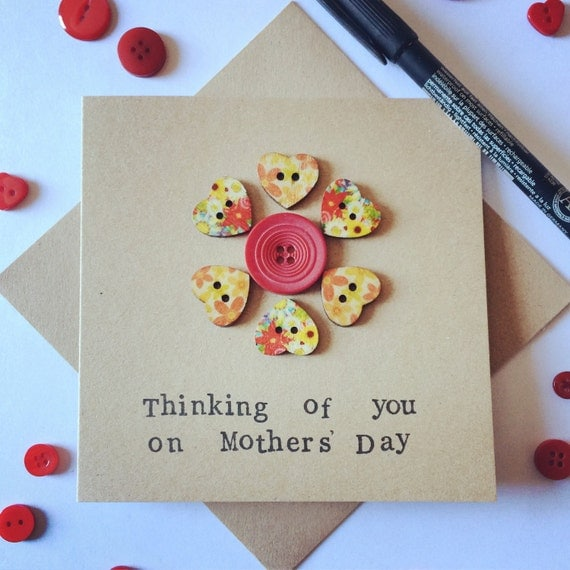 Thinking of you on Mothers' Day Card