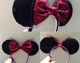 Classic Minnie Inspired Ears