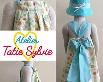 Scalable summer garden dress