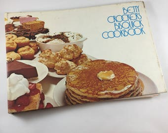 Betty Crocker's Bisquick Cookbook - Betty Crocker Cookbook - Bisquick Recipes - Vintage Cookbook - 1970's Cookbook - Recipe Collection
