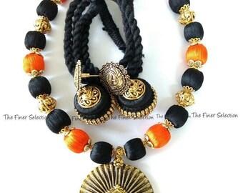 Handmade Silkthread Devi Set