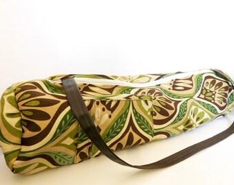 Yoga Mat bag // True leaf Collection