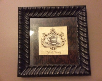 Rustic French cafe' wall decor, picture