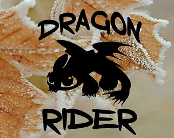 How To Train Your Dragon Toothless Vinyl Decal Sticker