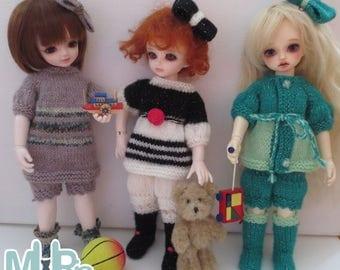 Playtime - BJD YOSD Clothing Set Pattern