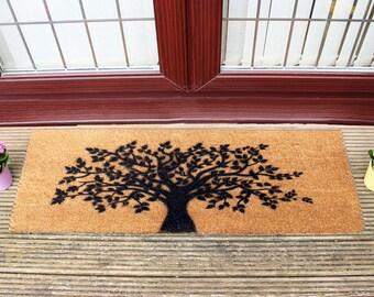 Tree of life doormat - 120x40cm - Patio Double Door mat