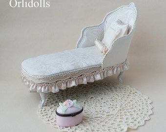 Sofa and armchair, doll furniture, sofa for dolls, doll house, doll house furniture, miniature sofa, couch for dolls, miniature furniture