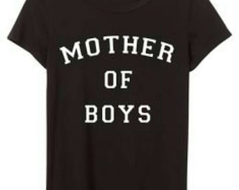 Mother of boys tshirt