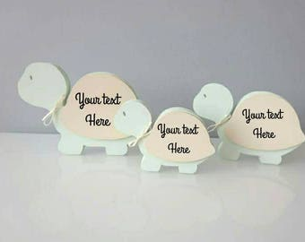 Personalised baby gifts, New baby gifts, Newborn baby gifts, Nursery decor, Baby shower gifts, tortoise family, unique baby gifts