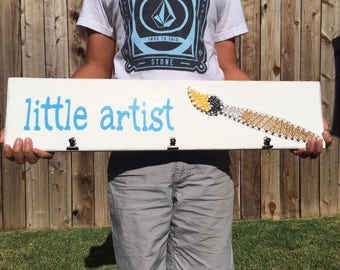 Little Artist String Art Sign