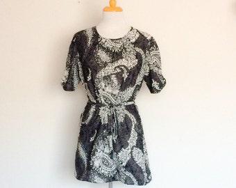 1970s Maxine Brand Tunic Top / Dress Vintage