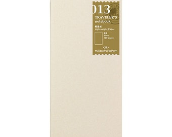 TN Refill - Regular Size - 013 Lightweight Paper