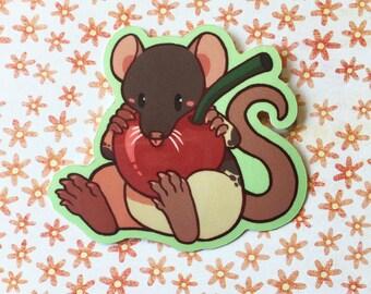 Hooded Rat - Vinyl Sticker