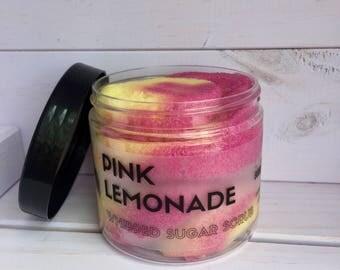 Pink Lemonade // Sugar Scrub // Vegan // Handmade