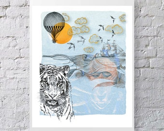 """Tiger and Elephant, """"My Primer of the trip"""", Anaïs Vielfaure, Editions nomads"""