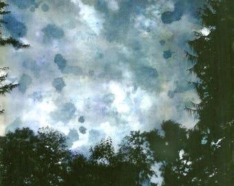 Sky, blue, Photo, Collage, Kunst, original