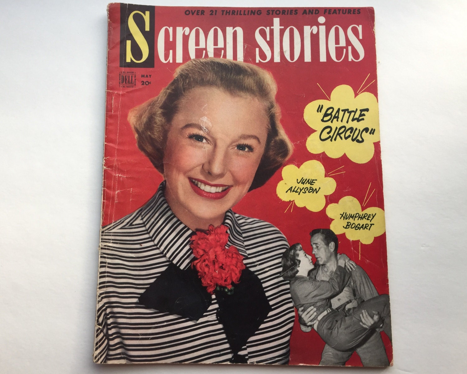 screen stories magazine may 1953 cover june allyson