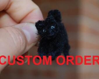 MINIATURE CAT (customisable) - NEW!