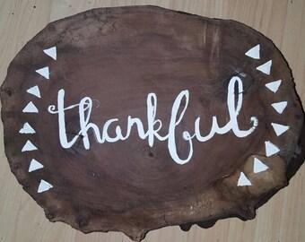 Thankful walnut