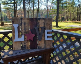 Pallet Sign, I can make different sizes and style