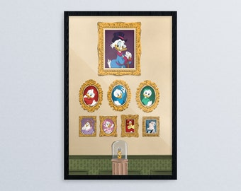Portraits of McDuck Manor