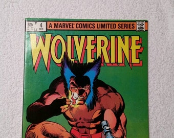 NM, Wolverine #4 (of 4), 1982.