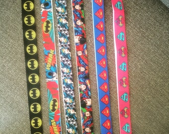 Super Hero Lanyards