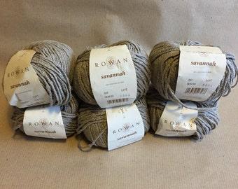 6 balls Rowan Savannah yarn
