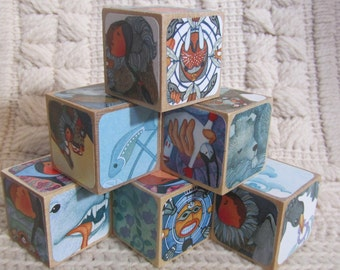 Mama, Do You Love Me? Picture Book Wooden Blocks