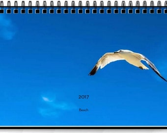 2017 Beach Desk Calendar