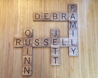 Custom Large Scrabble Wall Art (Price Per Tile)