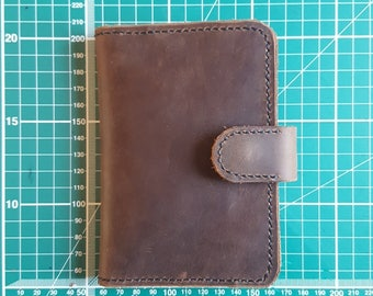 Leather Passport Case Card Holder Wallet