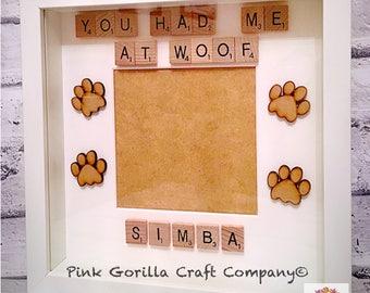 Personalised Pet Frame / Family Pet Keepsake / In Memory Pet Frame / Family Pet Frame / Pet Picture