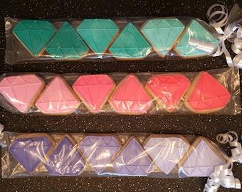 Mini Ombre Diamond Sugar Cookie Sleeves