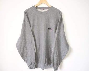 On Sale!! Vintage 90s KSWISS Small Logo Jumper Sweatshirt