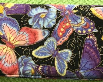 Beautiful butterflies checkbook cover, checkbook holder, check organizer, check book, wallet, accessories