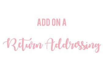 ADD-ON: Return Addressing
