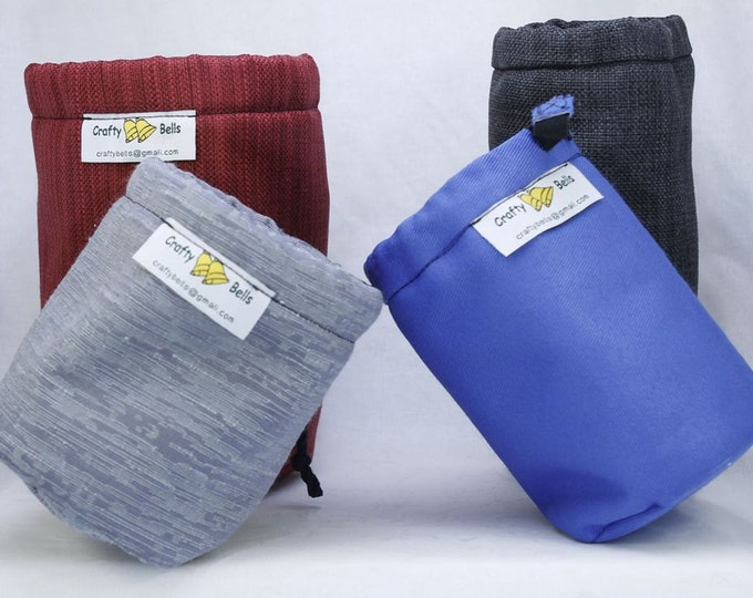 Camera Lens Bags (Small-X Small) DSLR Lens Bags Photography Accessories Non-abrasive protects lens from scratches