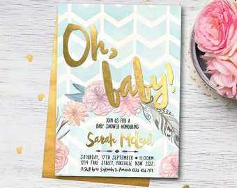 baby shower invitations | etsy au, Baby shower invitations