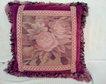 Aubusson Decorative Pillow