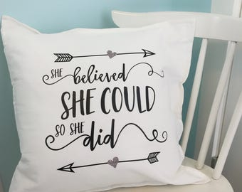 Inspiration Pillows, Throw Pillows, Throw Pillow Covers, Decorative Pillows, Decorative Pillow Covers, Pillows With Sayings, Pillow Cases