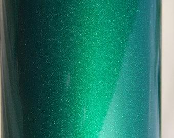 "SALE--Dark Green--FDC 3700 Ultra Metallic Vinyl--Glitter Vinyl--Craft/Sign Vinyl--Decals--12"" x 12"" Sheet"