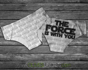 The Force is With You / Star Whores Undies /
