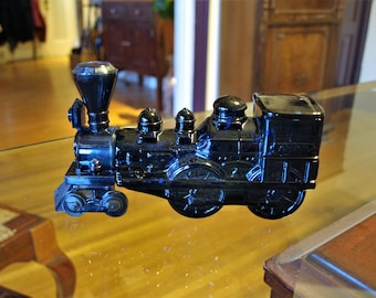 Avon Blue Locomotive Train Engine Bottle with Tai Winds After Shave – Bottle Only