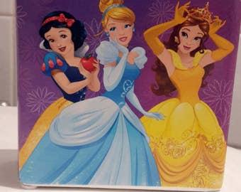 Disney princess ceramic moneybox.