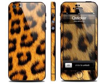 Leopard skin iPhone 5s, Leopard decal iPhone 4s, iPhone 5s skin, iPhone 4 decal, decal iPhone se, iPhone se skin, 3M vinyl