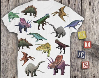 Dinosaurs Shirt Dinosaurs T Shirt Dinosaur Shirt Dinosaur Jr Shirt Dinosaur Outfit Kids Animal Shirt Boys Girls Graphic Tee Baby PA1149