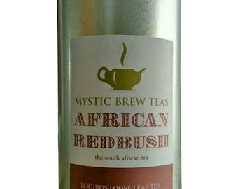 Mystic Brew Teas African Rooibos Loose Leaf Tea 100g Caddy