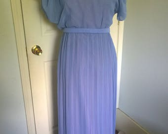 Vintage Purple and Pink Dress