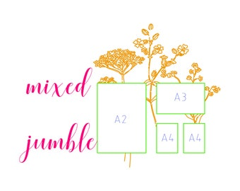Mixed Jumble Special Package - Photo Print